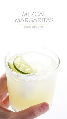Mezcal Margaritas -- kick your margs up a notch with some smoky mezcal in this easy recipe | gimmesomeoven.com