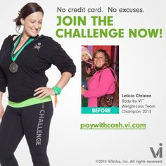 Ready to rock your 90 day challenge?? It is a lot of fun! http://www.kathleenjames.myvi.net
