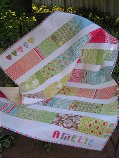 Sew Mama Sew pattern, Quilter: Thumbelina... very cute blog.