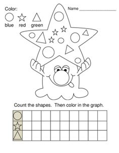... reading their color words. A monster activity for math or centers