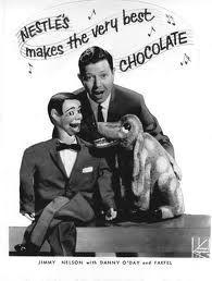 Farfel the Dog and Nestles Chocolate N*E*S*T*L*E*S...Nestles makes the very best..Choooocooolate.