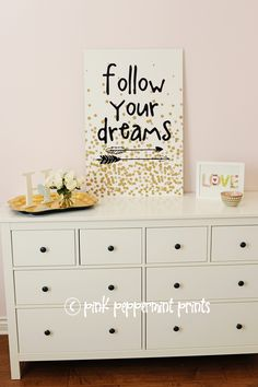 Follow Your Dreams Graduation Party - Pink Peppermint Design