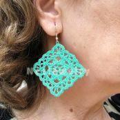 Dangle Earrings (2 in 1) Tutorial - via @Craftsy