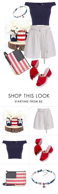 """""""..."""" by pnrcalis ❤ liked on Polyvore featuring Coast, Steve Madden and Draper James"""