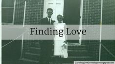 Carolina Girl Genealogy: Finding Love  Have you made an Adobe Spark video for an ancestor? Here's one I made for my parents. #genealogy #familyhistory #valentinesday #52Ancestors