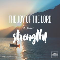 The joy of the Lord is your strength. Make up your mind today that no matter…