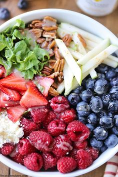 Berry Feta Salad wit