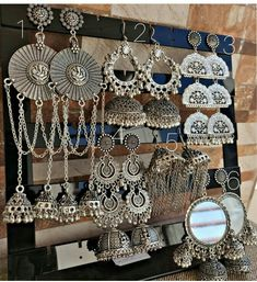 Trendy Ideas For Fashion Boho Style Jewels Antique Jewellery Designs, Fancy Jewellery, Silver Jewellery Indian, Indian Wedding Jewelry, Stylish Jewelry, Antique Jewelry, Silver Jewelry, Silver Earrings, Silver Ring