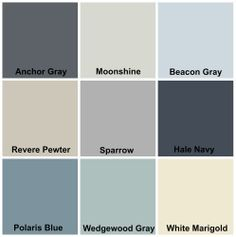 Beach house color ideas