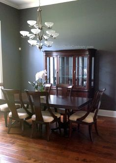 My new master bedroom paint color - Sherwin Williams 'Peppercorn'