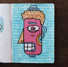 Sketchbook by Anonymous, from Australia