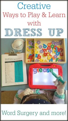5 Creative Ways to Play and Learn with Dress Up *Simple ideas to keep the kids entertained and learning