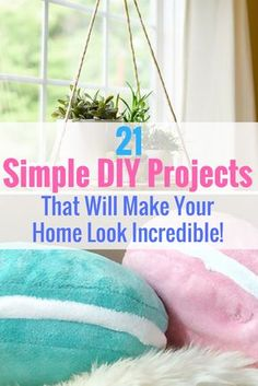 Learn 21 Ridiculously Easy DIY Projects That Can Make Your Home Look Amazing! http://www.gurl.com/2016/11/17/easy-bedroom-diy-projects-cozy-room-tutorial/ DIY room decor, DIY room decor For teens, DIY room decor Tumblr, DIY room decor Easy, DIY room decor For teens tumblr,Home decor, Home decor Ideas, Home decor On a budget, Home decor DIY, Home decor Ideas on a budget, Home decor Ideas living room, Home, Home ideas, Home design, Home design inspiration
