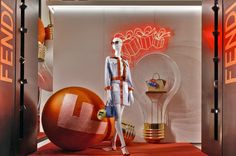 "FENDI,New York, ""So many great ideas....so little time"", (The Fendi ID-ea capsule collection), pinned by Ton van der Veer"