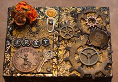 Recycle Reuse Renew Mother Earth Projects: How to make a Steampunk keepsake Box