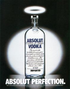 21 of the most clever Absolut vodka print ads