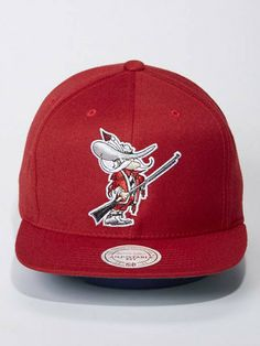 144636294787f UNLV Snapback (Red) by Mitchell   Ness