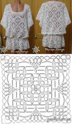 New Crochet Shrug Bolero Pattern Ideas Crochet Bolero, Pull Crochet, Crochet Girls, Crochet Jacket, Crochet Cardigan, Crochet Top, Crochet Summer, Crochet Granny, Crochet Squares