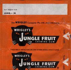 Wrigley's Jungle Fruit