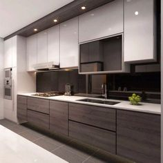 kitchen furniture ideas interior design kitchen modern classic kitchen partial open love this idea for our future home modern kitchen wall decor ideas Kitchen Room Design, Design Room, Kitchen Cabinet Design, Kitchen Sets, Home Decor Kitchen, Interior Design Kitchen, New Kitchen, Cabinet Decor, Kitchen Furniture