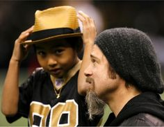 Brad Pitt and his Son Maddox