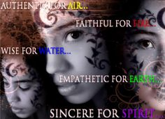 The Elements from The House of Night's Dark Daughters.