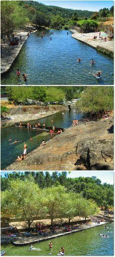 Praia Fluvial do Poço Corga - Serra da Lousã - Distrito de Leiria