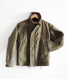Iconic Menswear: N1 Deck Jacket  Via Denimhunters.com