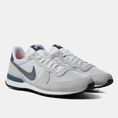 Nike Internationalist Shoes - Light Base Grey