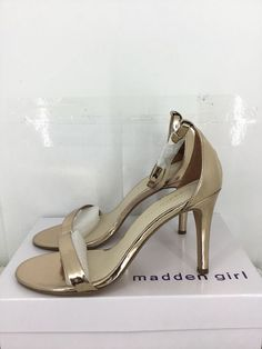45c1a0554408e Madden Girl Women Ava Heel Sandal  Size 8M  Rose Gold     fashion  clothing   shoes  accessories  womensshoes  sandals (ebay link)