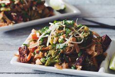 vegan pad thai-hot for food