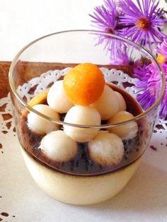 お月見みたらし団子焼きプリン  https://recipe.yamasa.com/recipes/1854