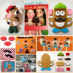 Pretend Party Post: Mr. Potato Head — Sweet Kiera