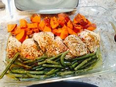 Paleo made Painless: One Pan Paleo Meals- Chicken with Sweet Potatoes & Green Beans