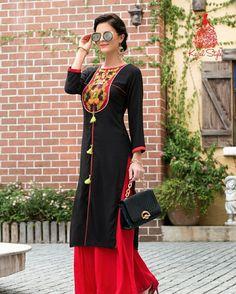ARADHNA FASHION Brand - Kajal Style Catalog - Fashion Fantasy Call or Whatsapp . Fashion Brand, Fashion Design, Fashion Ideas, Fashion Catalogue, Kurta Designs, Indian Designer Wear, Hijab Fashion, Fashion Shoes, Indian Dresses