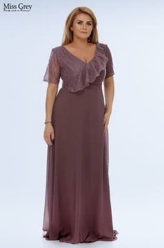 Update your special occasion wardrobe with our lilac Claudia maxi dress. Bridesmaid Dresses, Wedding Dresses, Pink Fashion, Short Sleeve Dresses, Lace Dresses, Lilac, Special Occasion, Chiffon, Plus Size