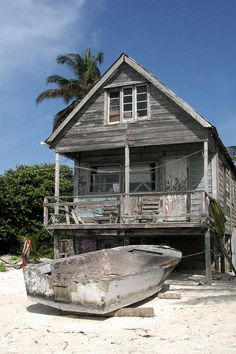 Caye Caulker, Belize.  Caye Caulker is a small limestone coral island off the coast of Belize in the Caribbean Sea measuring about 5 miles by less than 1 mile. The town on the island is known by the name Caye Caulker Village.