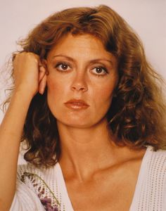 Susan Sarandon is an Academy Award-winning American film actress known for roles in films like Bull Durham, Thelma & Louise & Dead Man Walking. Description from pinterest.com. I searched for this on bing.com/images