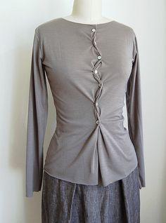 twist | UNIFORM Studio cotton/lycra jersey long sleeve t-shi… | Flickr