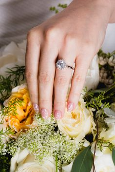 If you're all about the wedding details, then your manicure will factor into that. Your nails need to perfectly complement your rings, skin tone, and, of course, the wedding bouquet! Like this In the Spotlight color.