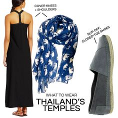 What to wear in Thailand: Temple dress code
