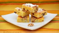 Kukoricalisztes-gyümölcsös piskóta Cauliflower, Cereal, Food And Drink, Gluten, Sweets, Healthy Recipes, Snacks, Cookies, Paleo