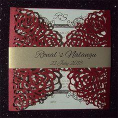 Ref Ronal Nalangu ( We can do any colour) www.weddingcards.co.za