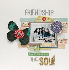 Friendship Enriches The Soul by cindylee at Studio Calico