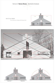 Robert Venturi's Vanna House on Behance