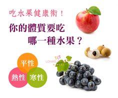 ❤【吃對水果,輕鬆調整好體質!】