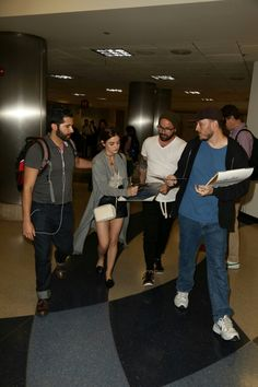 Lucy Hale arriving at LAX airport in Los Angeles [June 5, 2016]