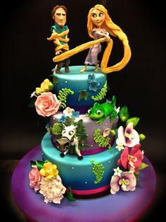 Cake Designer: Torta Rapunzel