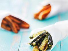 Frites de courgette : Recette de Frites de courgette - Marmiton