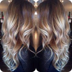 Idées Coupe cheveux Pour Femme 2017 / 2018 60 idées de couleurs de cheveux Balayage avec des points culminants blonds bruns caramel et rouges